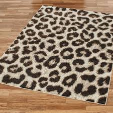 Cheetah Area Rug Large Area Rug With Leopard Zebra Cheetah Print 4 Ft X 6 Within