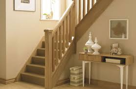 Banister And Spindles Oak Stop Chamfer Stair Bundle 1 Oak Stop Chamfer Staircase