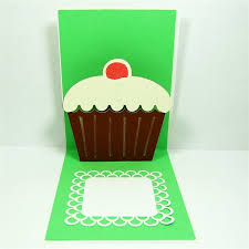 printable pop up cards pop up birthday cupcake cards projects