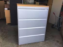 herman miller file cabinet herman miller 4 drawer lateral office filing cabinet 1000mm in