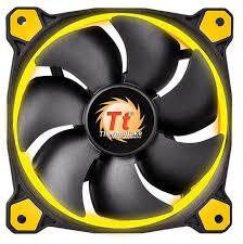buy thermaltake riing 14 high static pressure yellow led radiator