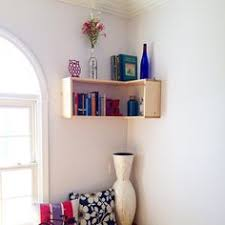 Woodworking Plans Corner Shelf by Floating Corner Shelf Need This For My Cats Food For The Crib