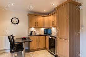 light oak shaker kitchen cabinets domestic kitchen and dining modern domestic kitchen with a