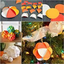 the diy pretty 3d paper ornaments íque