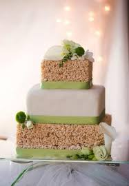 wedding rice 25 tasty and easy to make rice krispie wedding cakes