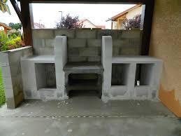 cuisine exterieure beton charmant beton cellulaire exterieur barbecue 4 cuisine d233t233