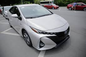 toyota line 2017 toyota prius prime first drive