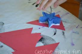 4th Of July Bunting Decorations 4th Of July Bunting Kids Craft Creative Family Fun
