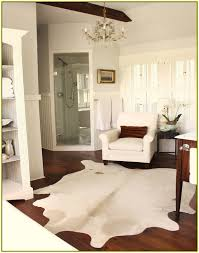 Silver Cowhide Rug Silver And White Cowhide Rug Home Design Ideas