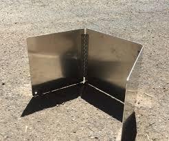 Wind Screens For Decks by Stove Windscreens U2014 Eddyline Welding