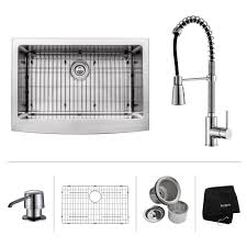 sink kitchen faucet stainless steel kitchen sink combination kraususa