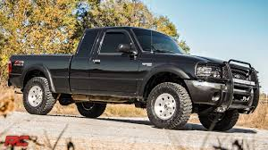 ford ranger lifted 1998 2010 ford ranger 1 5 inch leveling kit by rough country youtube