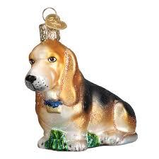 basset hound ornament callisters
