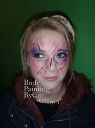 halloween face paint u2013 body painting by cat