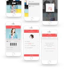 gift cards app on behance