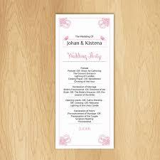 sle of wedding ceremony program sle of wedding program 28 images sale printable wedding