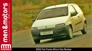 fiat punto 2002 2002 fiat punto micro van review youtube
