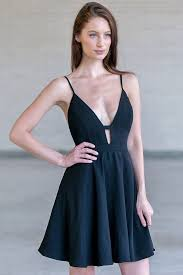party dresses black plunging neckline dress black party dress black cocktail