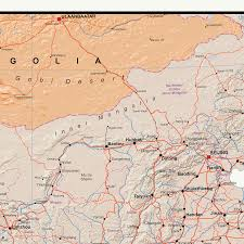 South East Asia Map Continental Series South East Asia Wall Map Xyz Maps