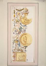 ornamentation in the grotesque style charles louis clerisseau