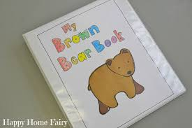 brown bear brown bear handprint project happy home fairy