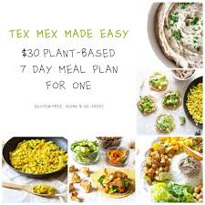 Plant Based On A Budget Challenge 25 Week Meal Plan The Plant