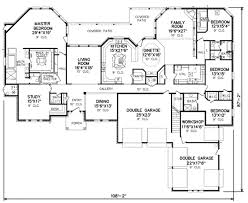 Workshop Floor Plan by Traditional Style House Plan 4 Beds 3 50 Baths 4500 Sq Ft Plan