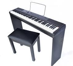artesia pa 88w portable u0026 digital piano with matching stand and