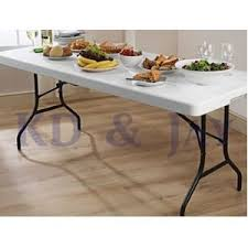 Lifetime 6ft Folding Table Lifetime 6ft Folding Table With Handle Indoor Or Outdoor Easy To