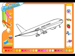airplane coloring pages kids airplane coloring pages