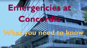 emergencies at concordia what you need to know youtube