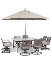 Wayland Outdoor Dining Collection Created For Macys Furniture - Outdoor aluminum furniture