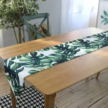 buy green table runner and get free shipping on aliexpress com