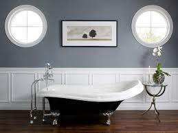 bathroom with wainscoting ideas bathroom wainscoting gray white paint color install homes
