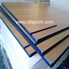 Laminate Table Top Woodgrain Formica Laminate Hpl Sheet Compact Laminate Table
