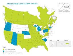 becoming an interior designer interior design license state licensure info