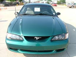 Deep Forest Green Deep Forest Green 1996 Ford Mustang Gt Coupe Mustangattitude Com