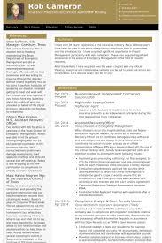 Digital Marketing Consultant Resume Business Analyst Resume Sample Resumesampler Pertaining To 23