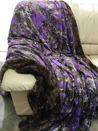 Fake Fur Blanket Camouflage Faux Fur Blanket Luxurious Over Sized Faux Fur