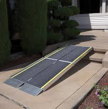 tri fold portable wheelchair ramp hoveround