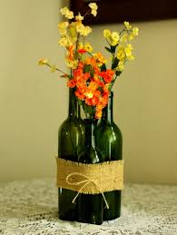 How To Decorate Flower Vase Ways To Reuse Glass Bottles 26 Ideas For Old Wine Bottles