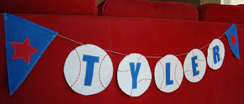 nap time crafts baseball banner
