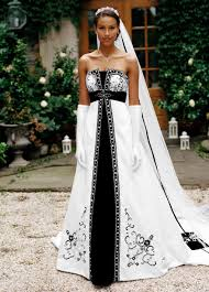 david bridals inspirational black and white wedding dresses david s bridal