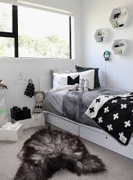 Black And White Bed The Design Chaser Home Build Update Marlow U0027s Room Get Started
