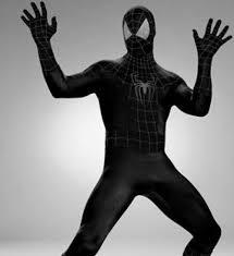 black spiderman costume iron spider 3
