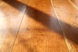 wide plank flooring makes a beautiful statement