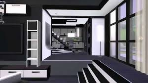 the sims 3 modern house gray scale for couples hd download