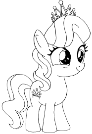 my little pony diamond tiara coloring pages