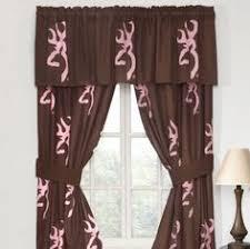 Browning Home Decor Pink Browning Buckmark Combo 1 Shower Curtain U0026 1 Bathroom Mat
