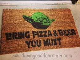 Geek Doormat Star Wars Yoda Doormat